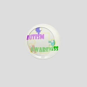 3-autismaw copy Mini Button