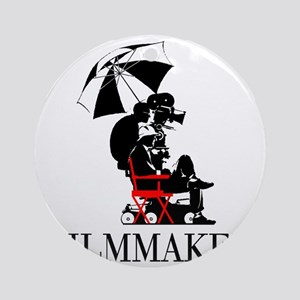 Filmmaker Round Ornament