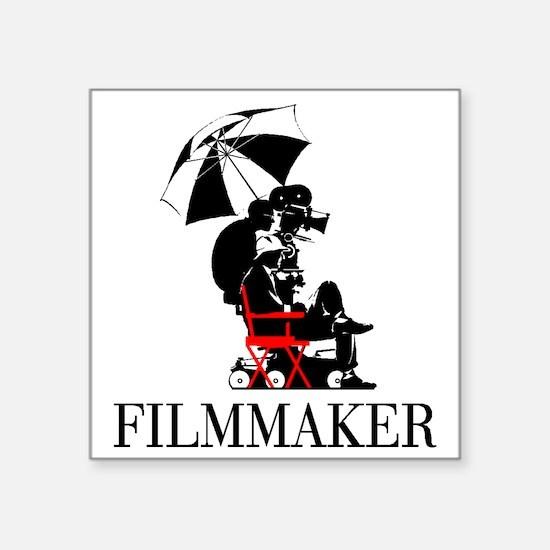 "Filmmaker Square Sticker 3"" x 3"""