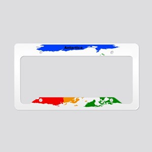 South Up License Plate Holder