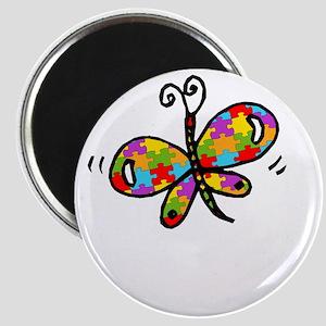 Butterfly -dk Magnet
