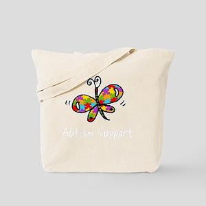 Butterfly -dk Tote Bag