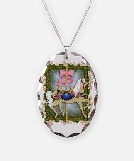 The Flower Carousel Necklace