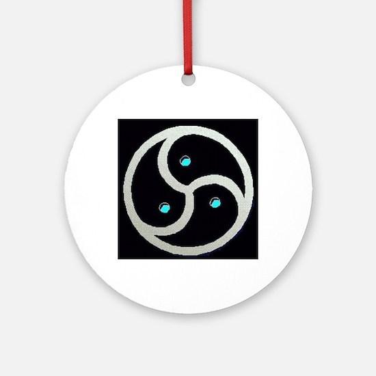 2-emblem4.gif Round Ornament