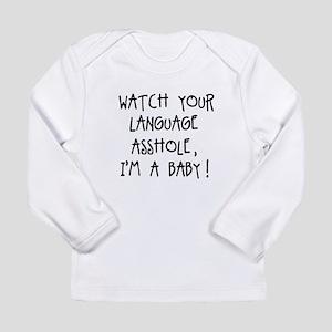 WatchLanguage Long Sleeve T-Shirt