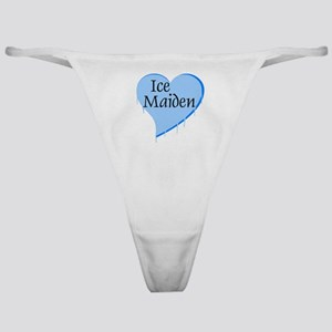 Ice Maiden Heart Classic Thong