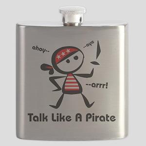 Talk Pirate Flask