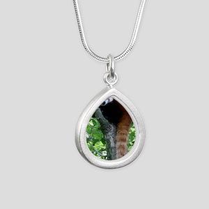 IMG_7798 Silver Teardrop Necklace