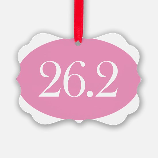 26 point 2 pink Ornament