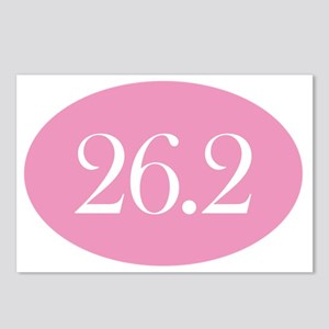 26 point 2 pink Postcards (Package of 8)