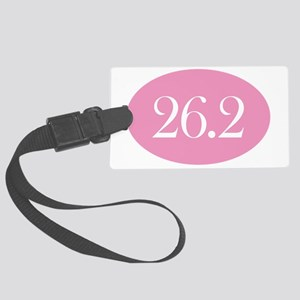 26 point 2 pink Large Luggage Tag