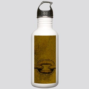 JOURNAL_ChristFreedUsF Stainless Water Bottle 1.0L