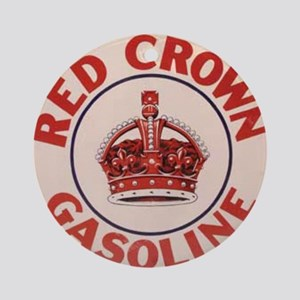 redcrown Round Ornament