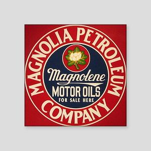 """magnolia Square Sticker 3"""" x 3"""""""