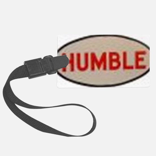 2-humble Luggage Tag