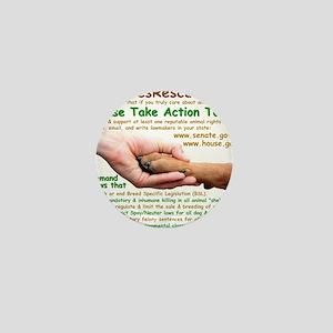please_take_action_today Mini Button