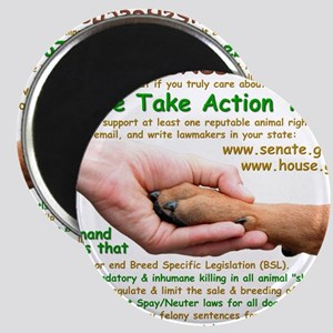 please_take_action_today Magnet
