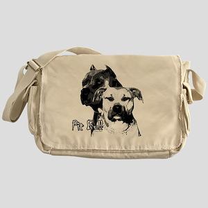 2dog head Messenger Bag