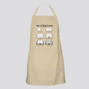 How to Draw a Novel Apron