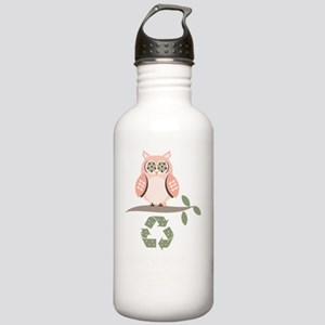 GiveAHootRecycleDkT Stainless Water Bottle 1.0L