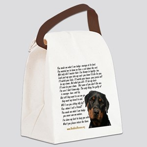 you_made_me_what_I_am_today_rot Canvas Lunch Bag