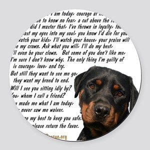 you_made_me_what_I_am_today_rot Round Car Magnet