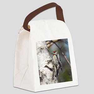 ornament Canvas Lunch Bag