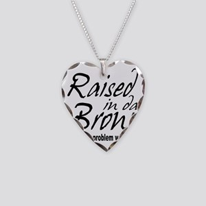 raised inthe bronx Necklace Heart Charm