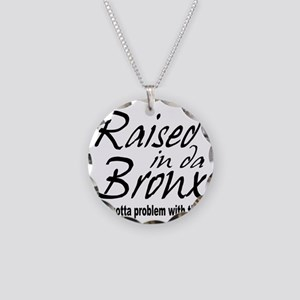 raised inthe bronx Necklace Circle Charm
