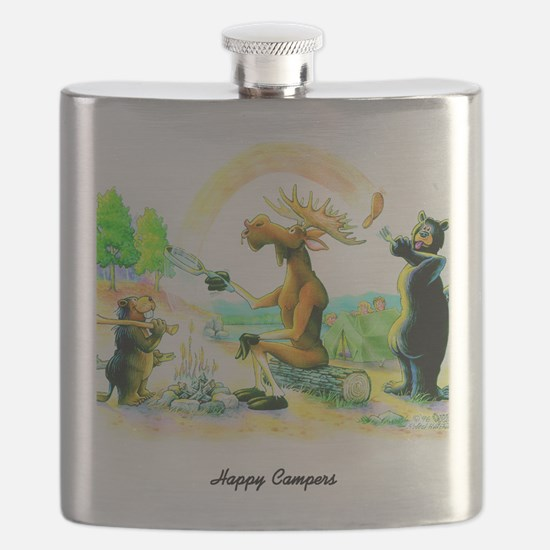 Happy Campers Flask