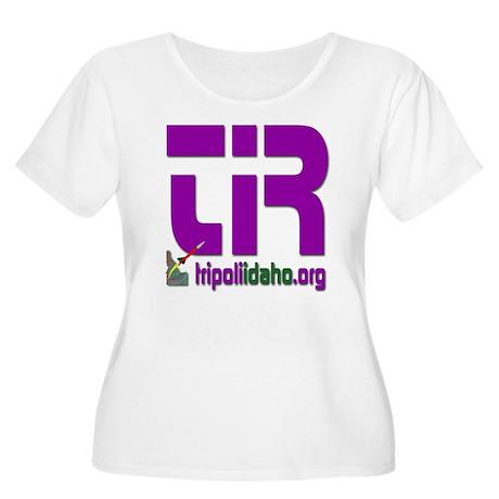 6x6_pocket_TI Women's Plus Size Scoop Neck T-Shirt
