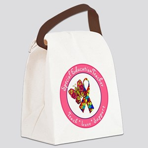 Special Ed Teach 1 Canvas Lunch Bag