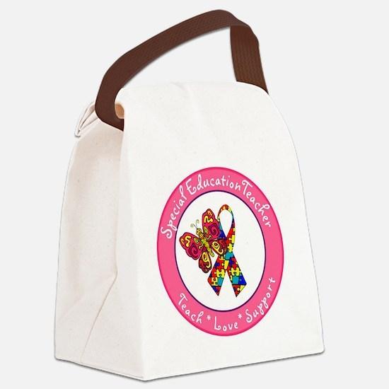 Special Ed Teach 1 Canvas Lunch Bag
