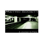 METRO SOCIETY Rectangle Magnet