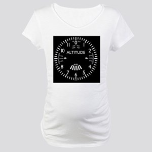 altimeter_clock Maternity T-Shirt