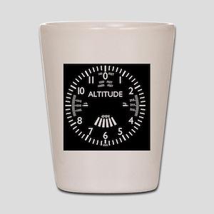 altimeter_clock Shot Glass
