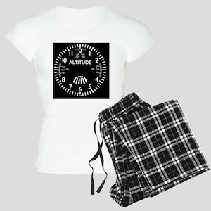 altimeter_clock Women's Light Pajamas