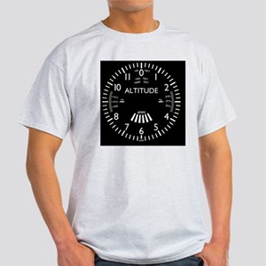 altimeter_clock Light T-Shirt