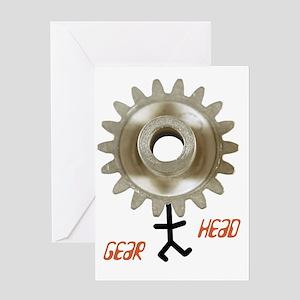 gearhead01 Greeting Card