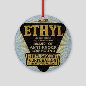 ethyl2 Round Ornament