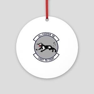 35th_fs_fighter_squadron Round Ornament