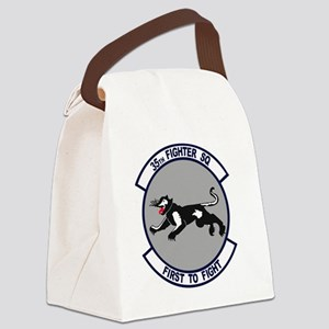 35th_fs_fighter_squadron Canvas Lunch Bag