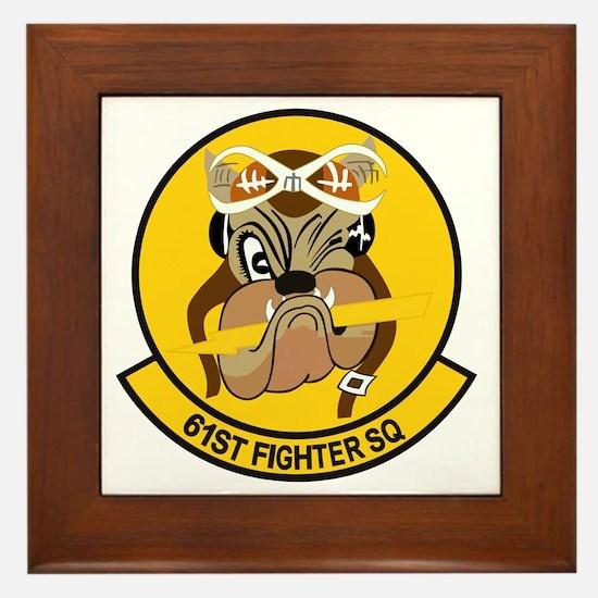 61st_fighter_sq Framed Tile