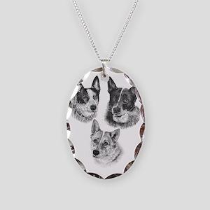PeachesMattieMick Necklace Oval Charm