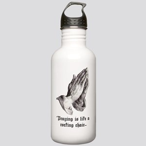 2-praying front Stainless Water Bottle 1.0L