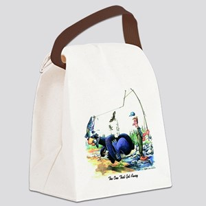 The One That Got Away Canvas Lunch Bag