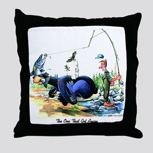 The One That Got Away Throw Pillow
