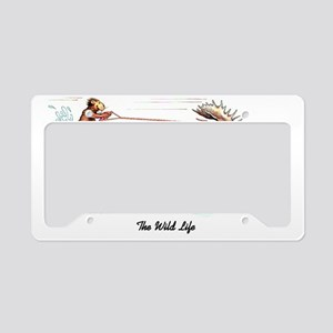 The Wild Life License Plate Holder