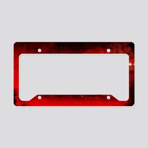 WidowBkPstr01h License Plate Holder