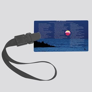 All50_Sunset_11x17 Large Luggage Tag